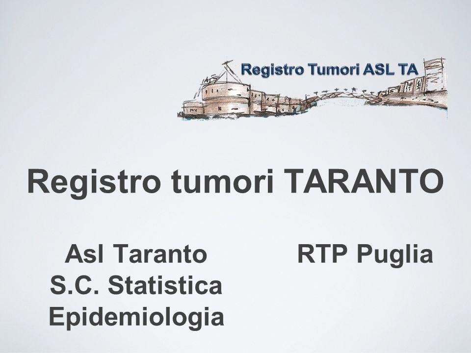 Registro tumori TARANTO