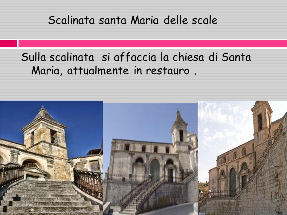 Scalinata santa Maria delle scale