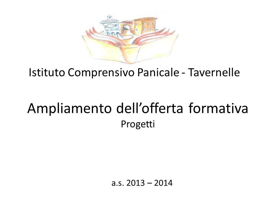 Ampliamento dell'offerta formativa Progetti