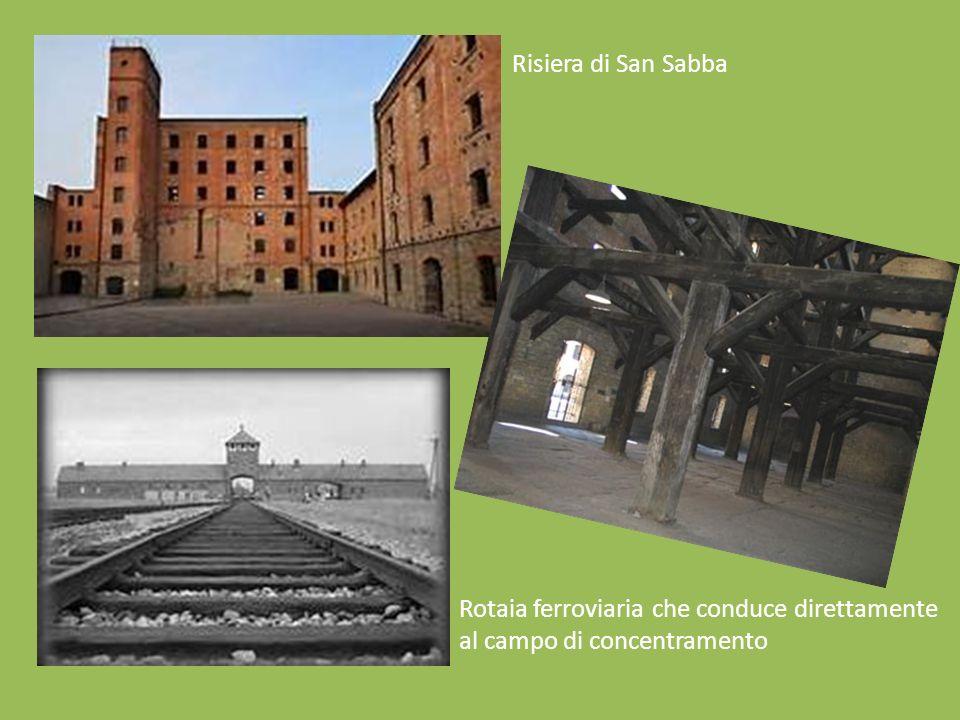 Risiera di San Sabba Rotaia ferroviaria che conduce direttamente al campo di concentramento
