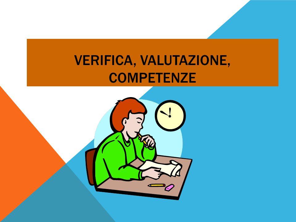 Verifica, valutazione, competenze