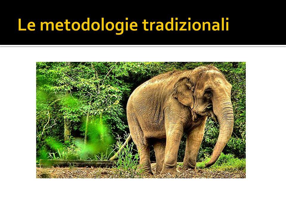 Le metodologie tradizionali