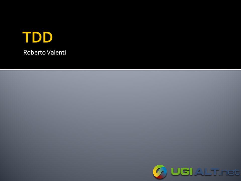 TDD Roberto Valenti