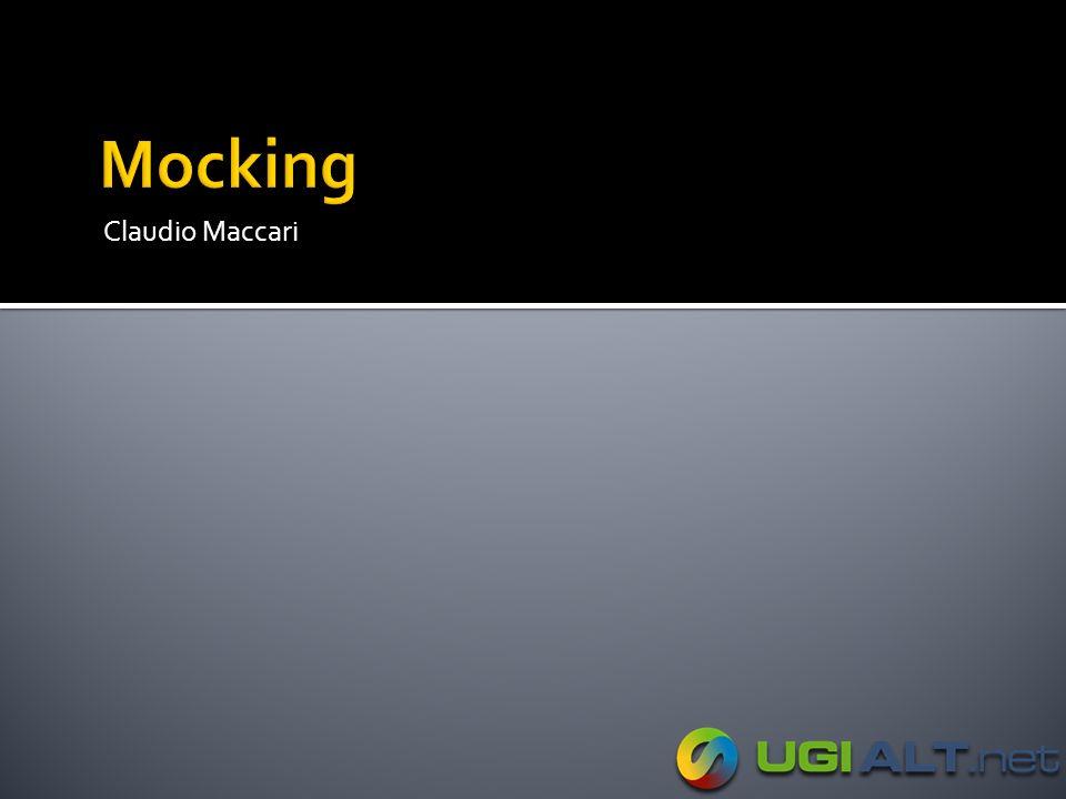 Mocking Claudio Maccari