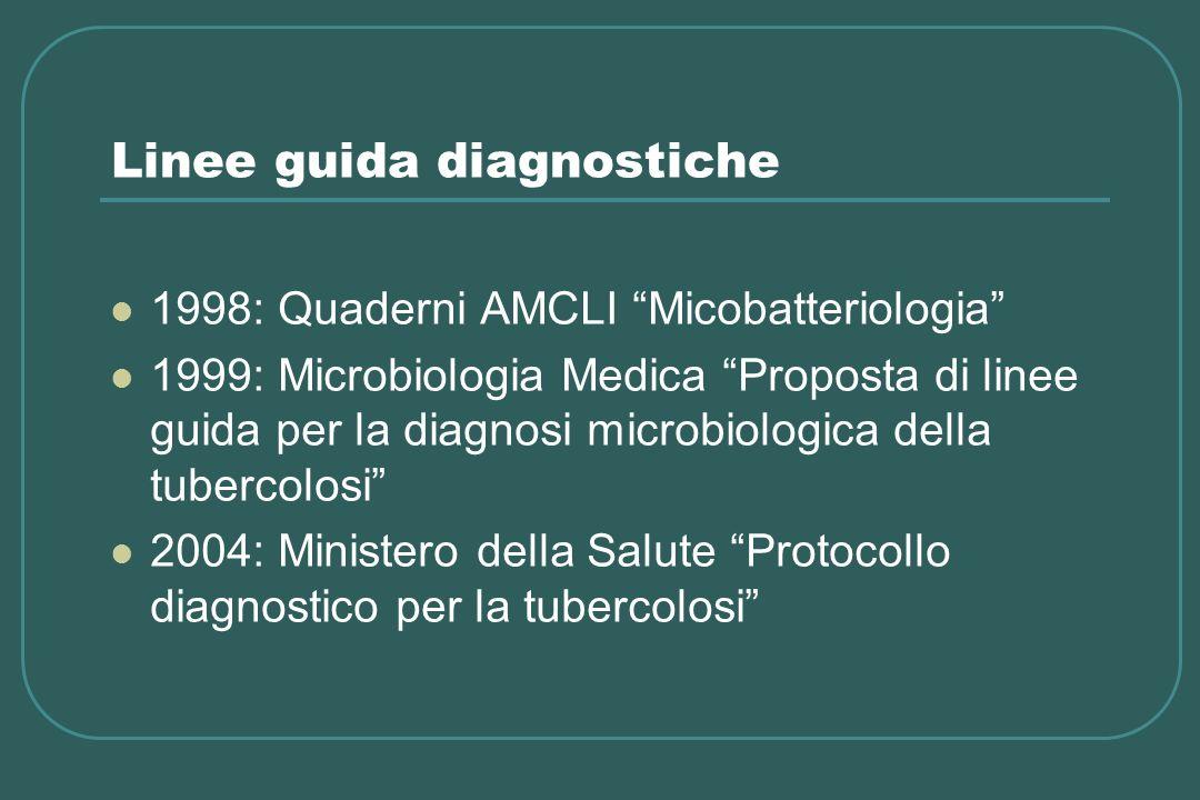 Linee guida diagnostiche