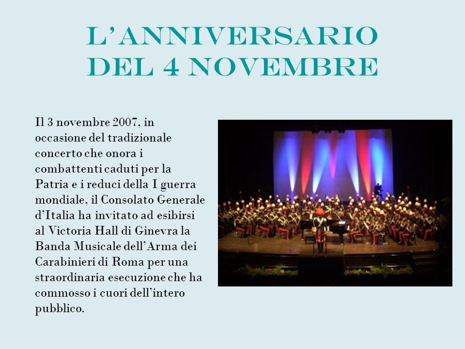 L'anniversario del 4 novembre