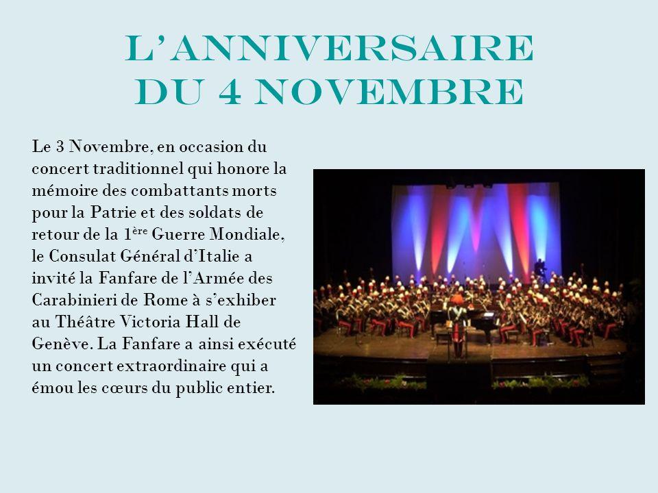 L'anniversaire du 4 Novembre