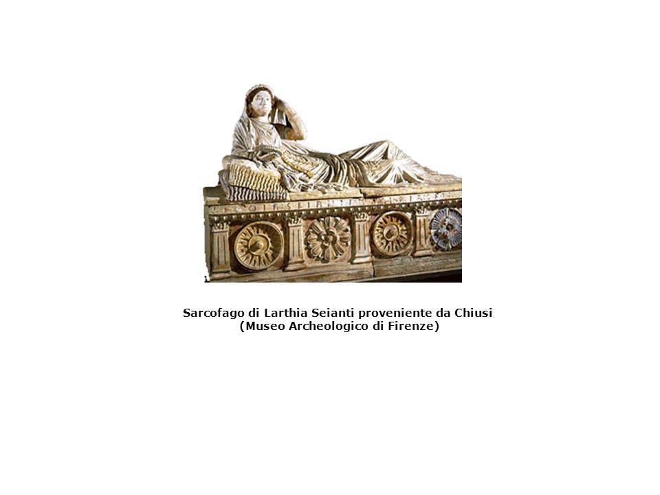 Sarcofago di Larthia Seianti proveniente da Chiusi