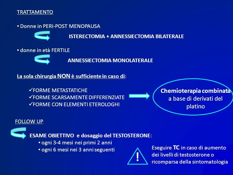Chemioterapia combinata a base di derivati del platino