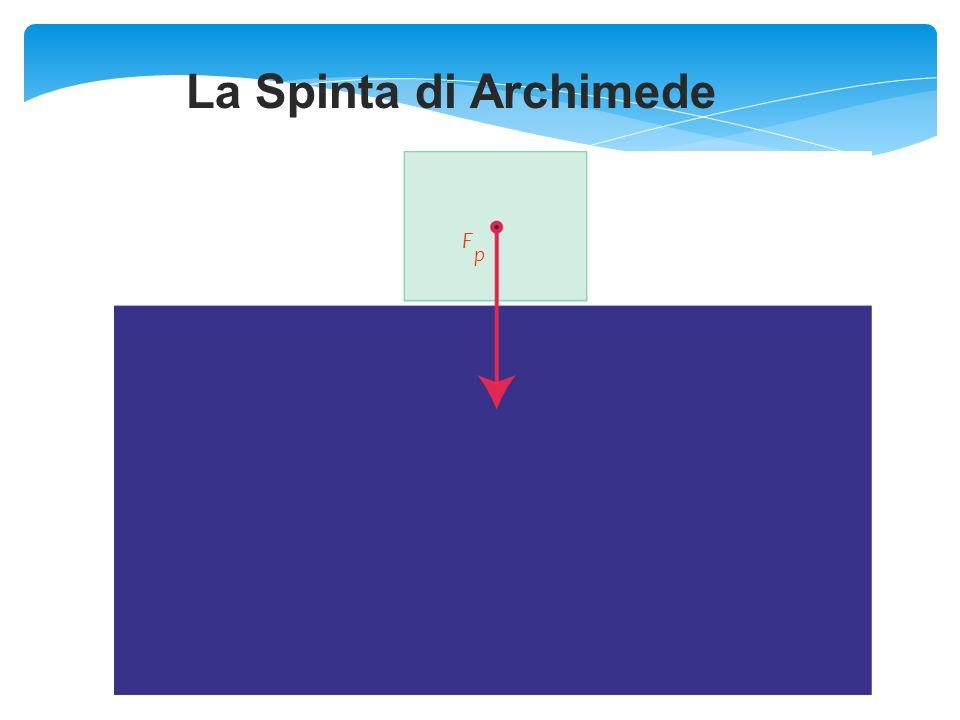 La Spinta di Archimede F p