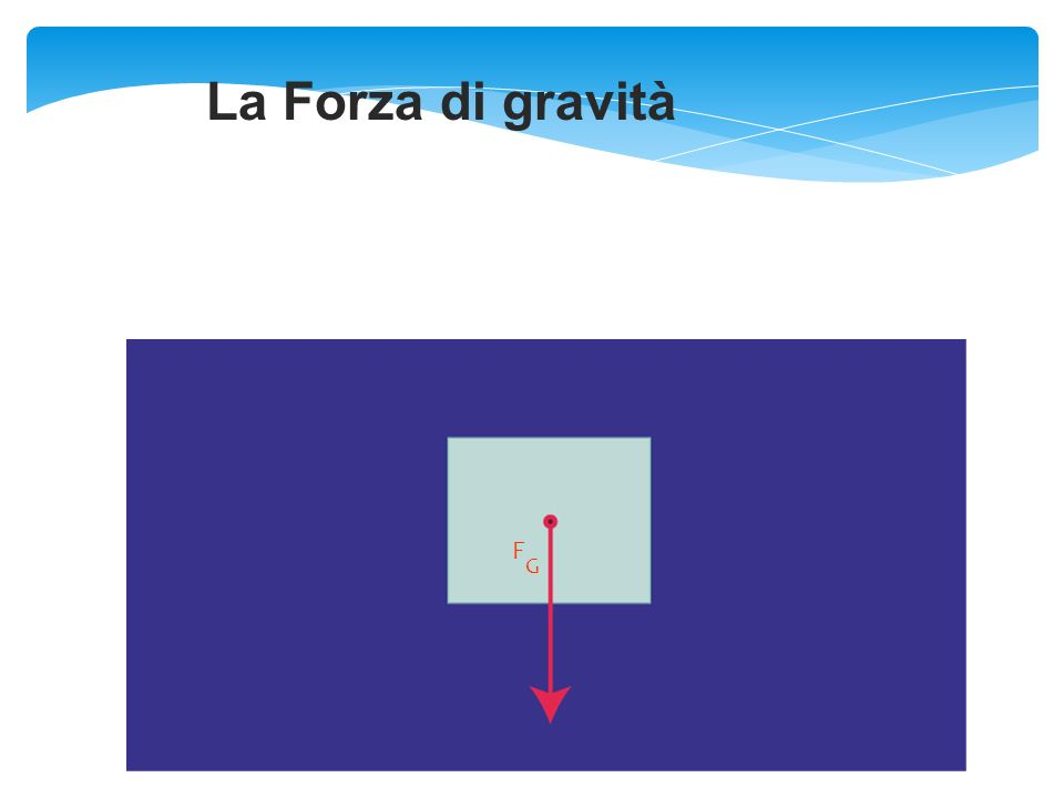 La Forza di gravità F G