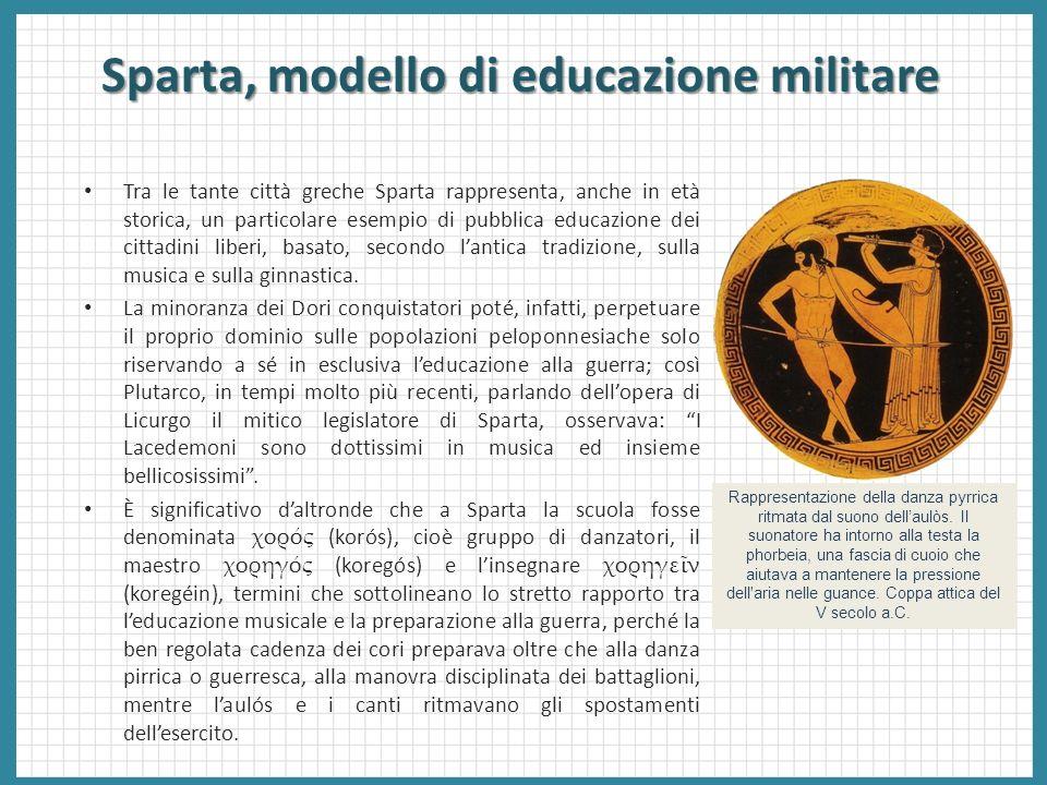 Sparta, modello di educazione militare