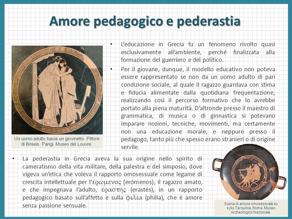 Amore pedagogico e pederastia