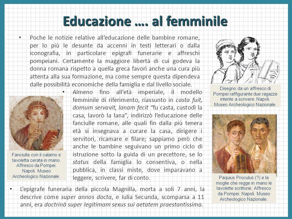 Educazione …. al femminile