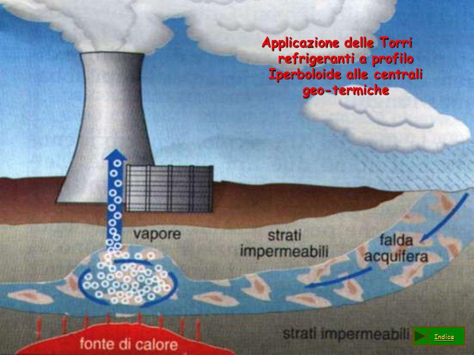 Applicazione delle Torri refrigeranti a profilo Iperboloide alle centrali geo-termiche