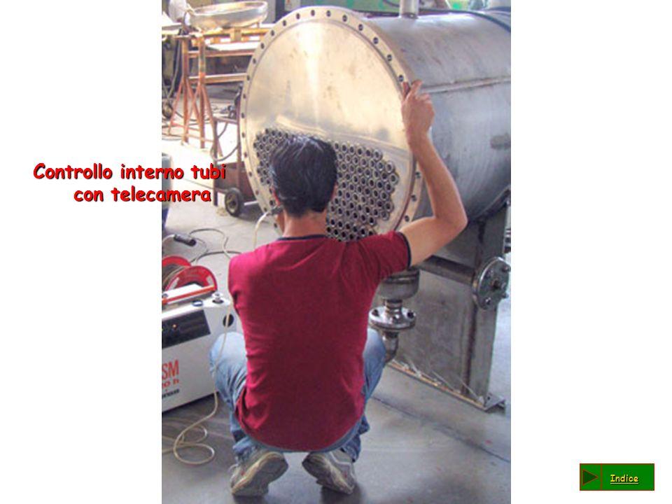 Controllo interno tubi con telecamera
