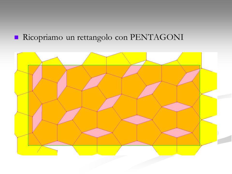 Ricopriamo un rettangolo con PENTAGONI
