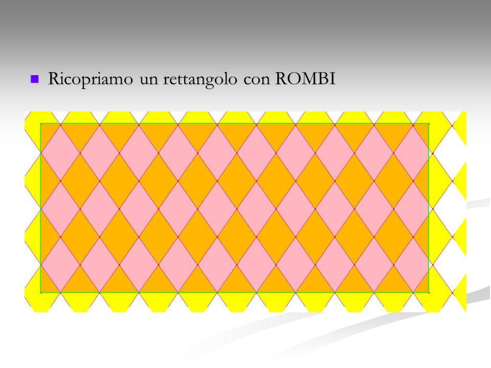 Ricopriamo un rettangolo con ROMBI