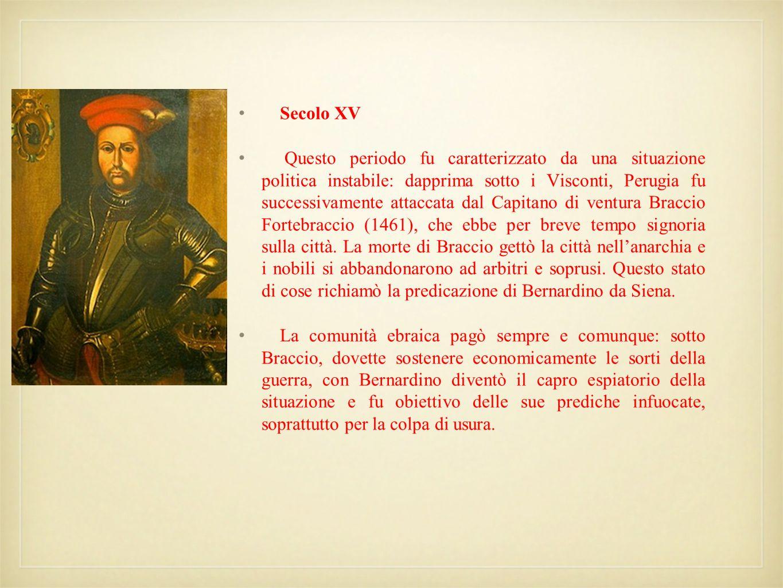 Secolo XV