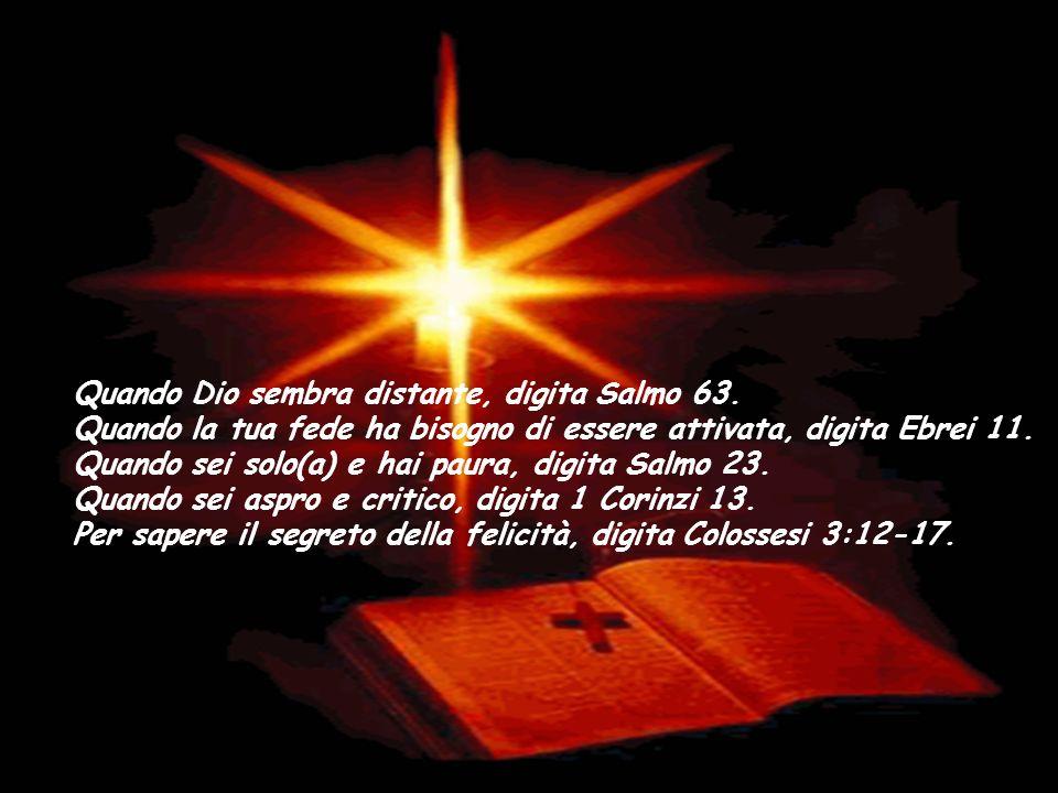 Quando Dio sembra distante, digita Salmo 63
