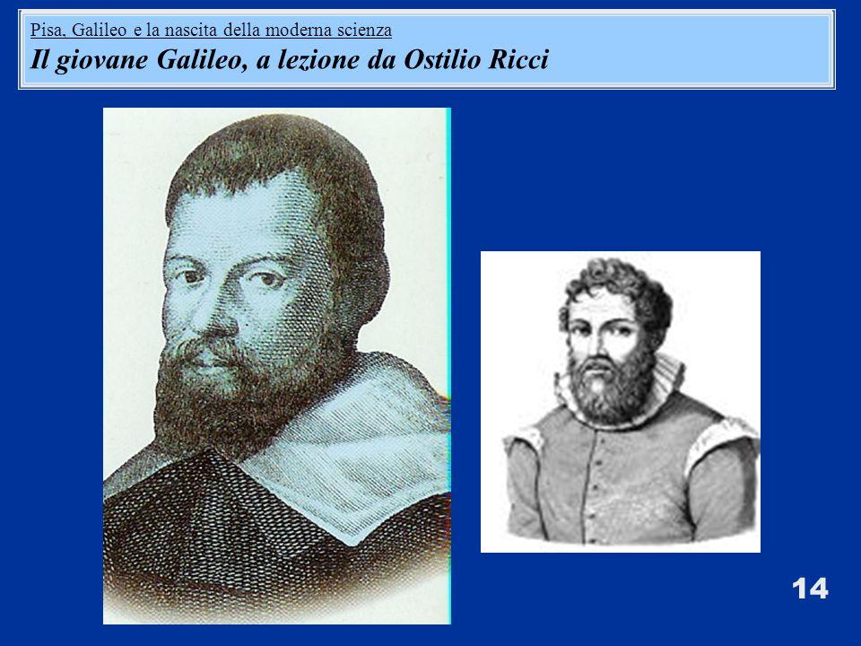 Il giovane Galileo, a lezione da Ostilio Ricci