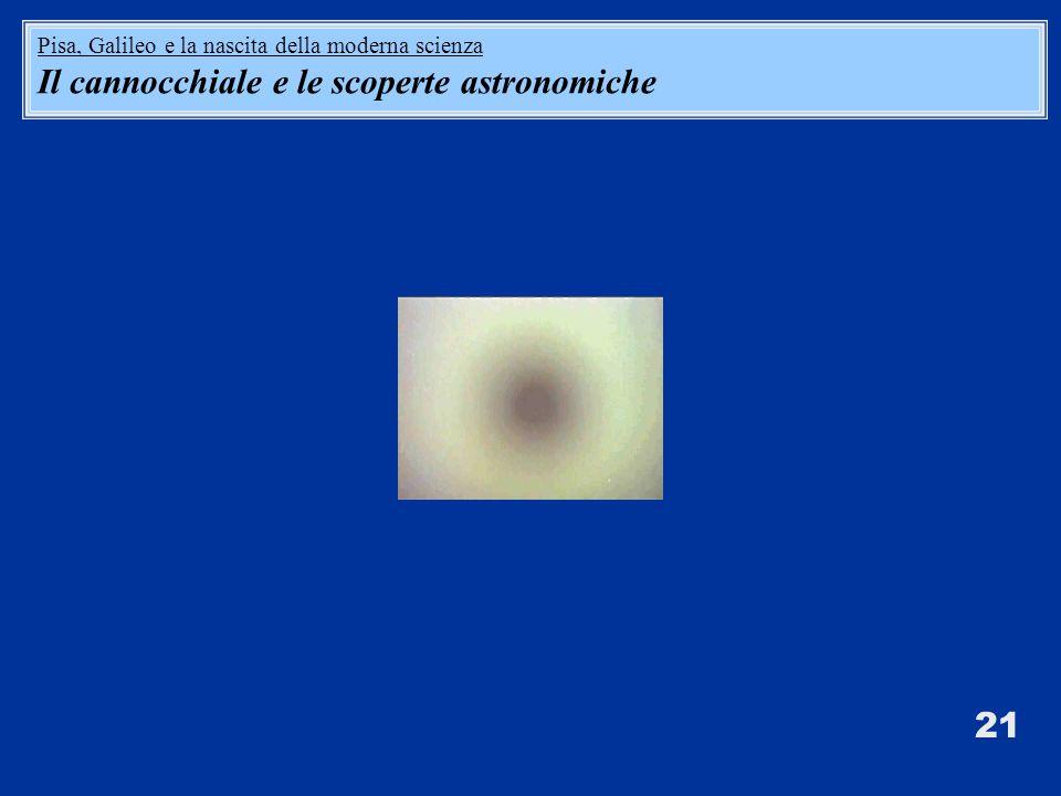 Il cannocchiale e le scoperte astronomiche
