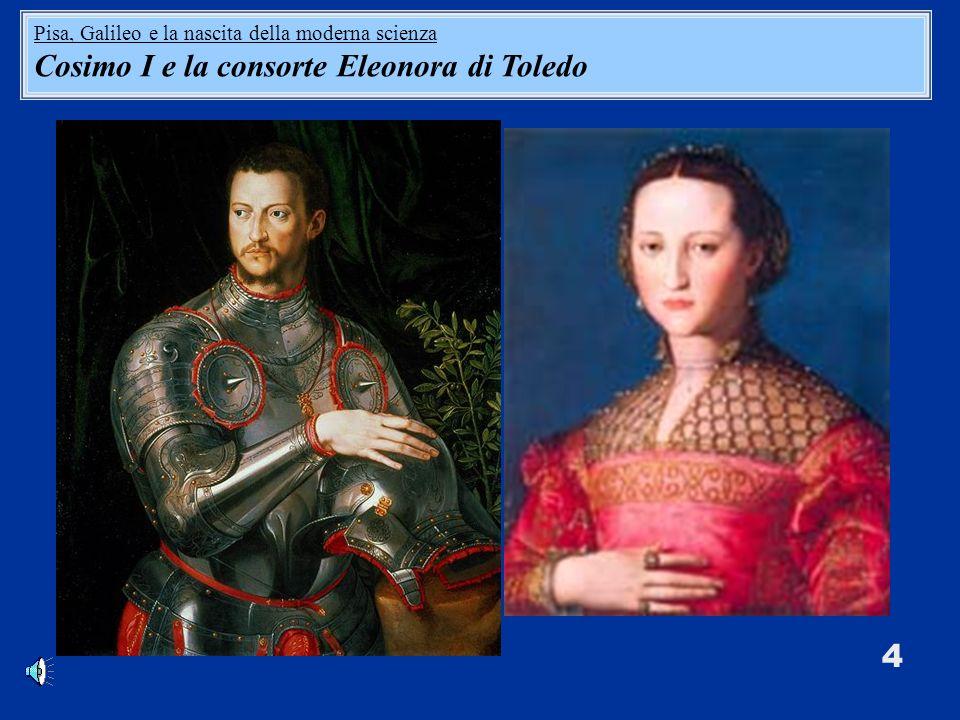 Cosimo I e la consorte Eleonora di Toledo