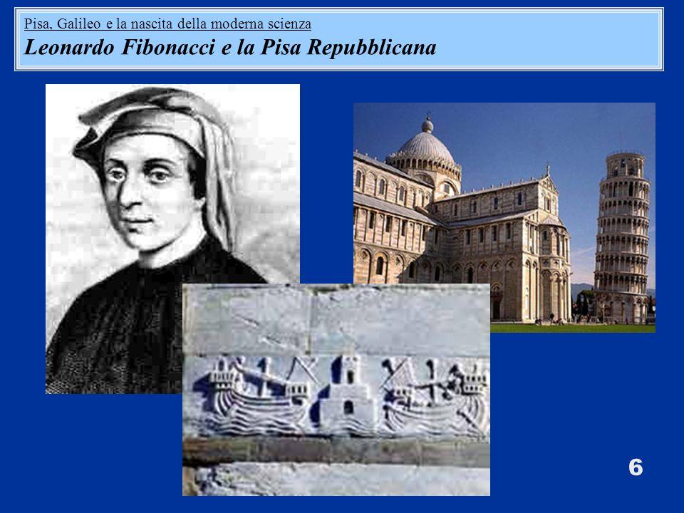 Leonardo Fibonacci e la Pisa Repubblicana