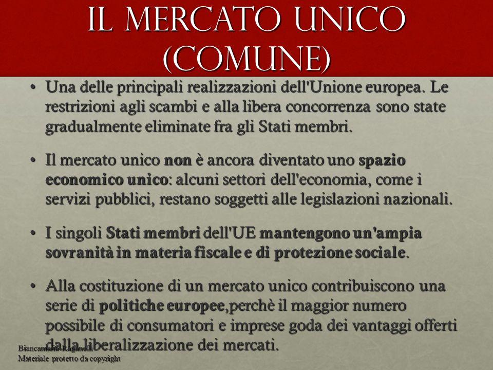 Il mercato unico (comune)