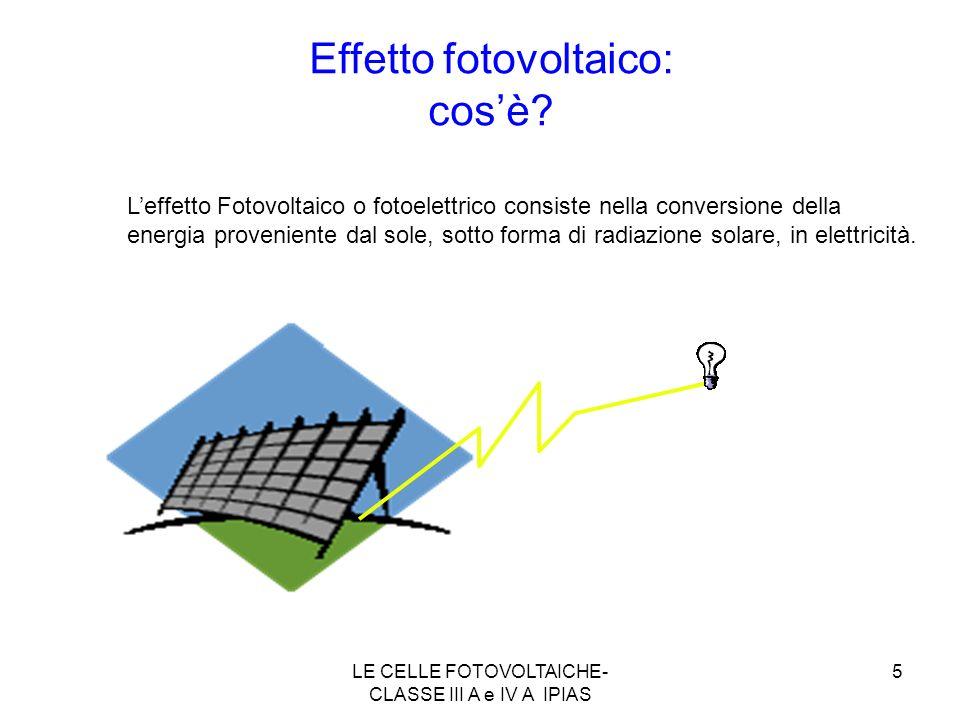 Effetto fotovoltaico: cos'è