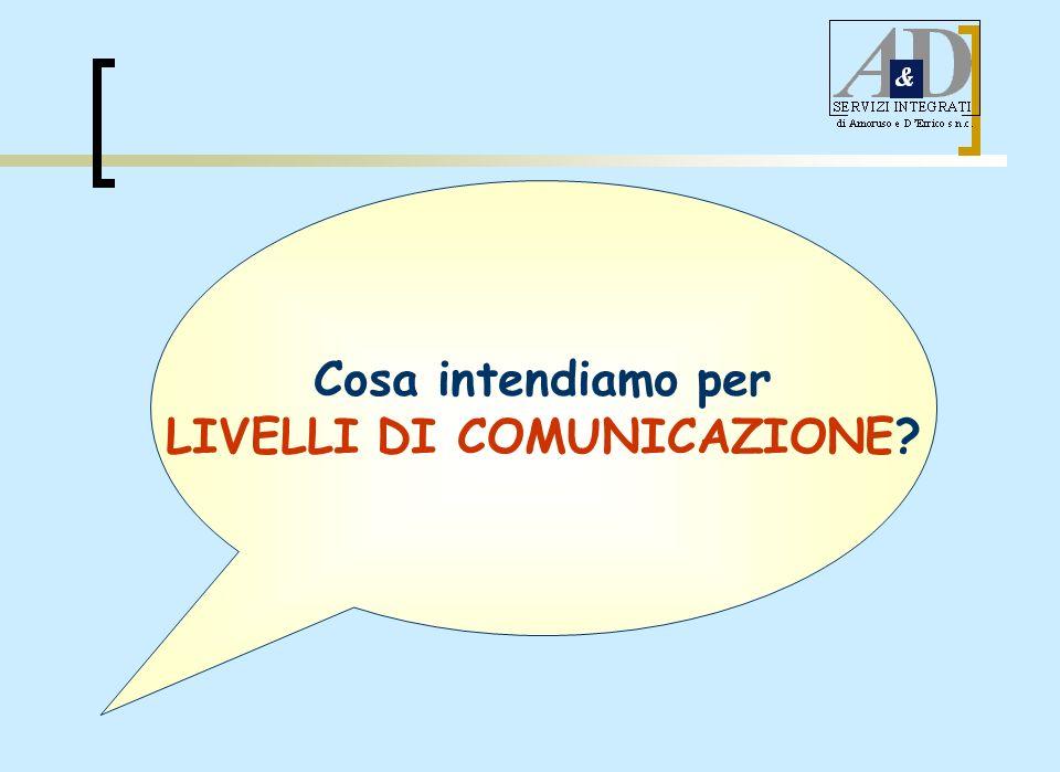 LIVELLI DI COMUNICAZIONE