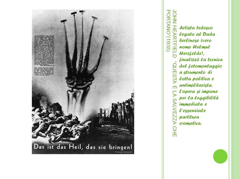 JOHN HEARTFIELD QUESTA È LA SALVEZZA CHE PORTANO (1938)