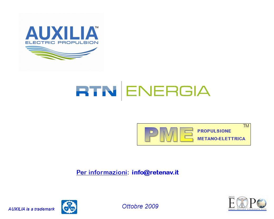 PME Per informazioni: info@retenav.it Ottobre 2009 TM PROPULSIONE