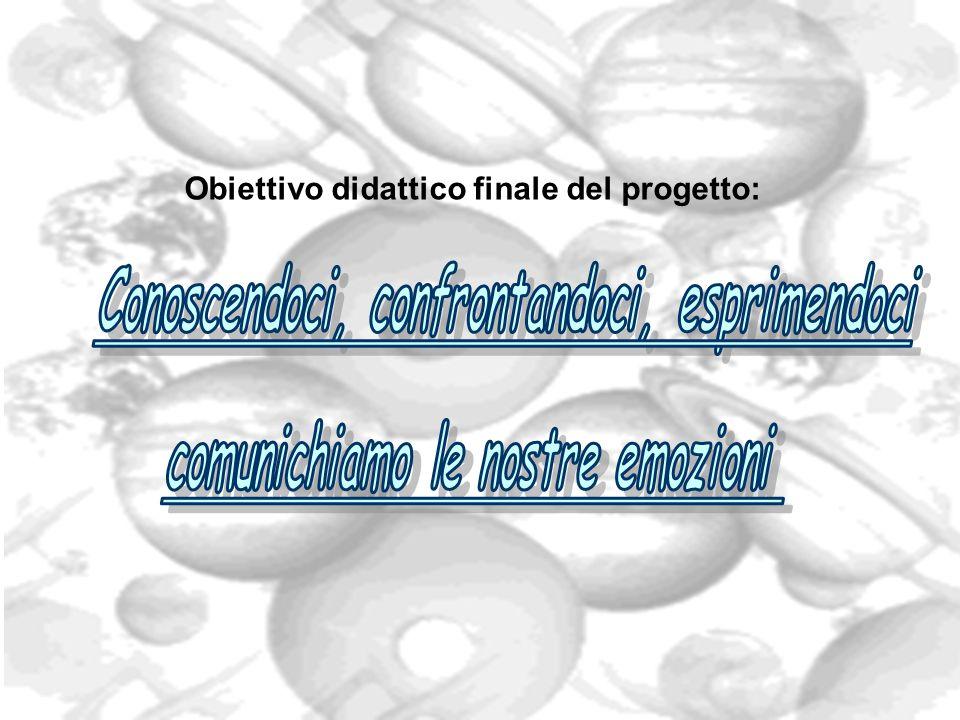 Obiettivo didattico finale del progetto: