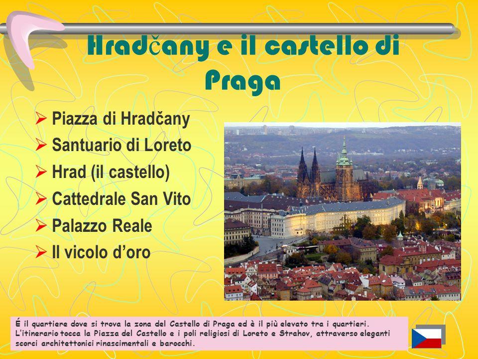 Hradčany e il castello di Praga