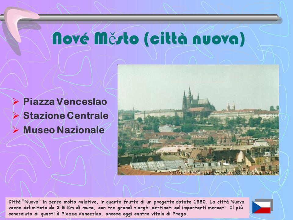 Nové Město (città nuova)