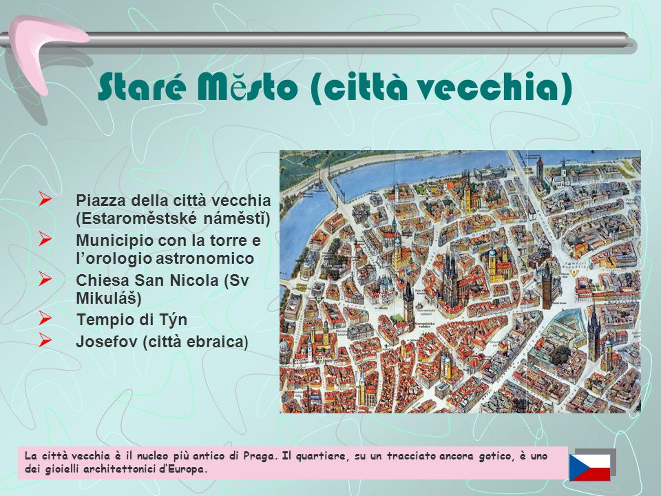 Staré Mĕsto (città vecchia)