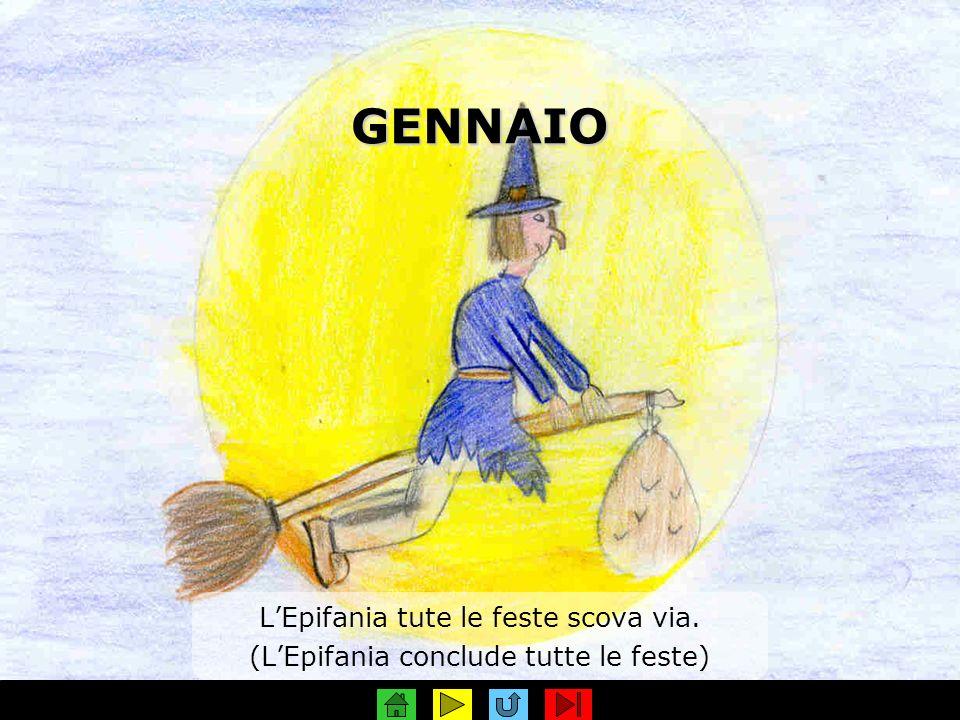 GENNAIO L'Epifania tute le feste scova via.