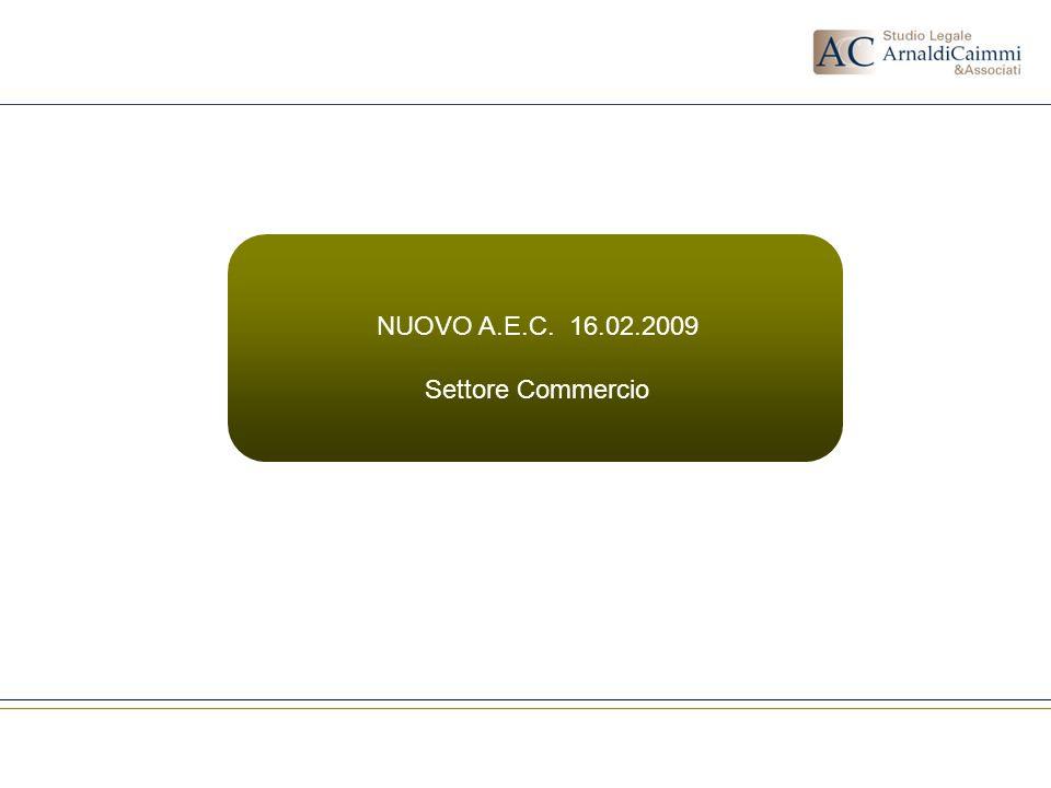 NUOVO A.E.C. 16.02.2009 Settore Commercio