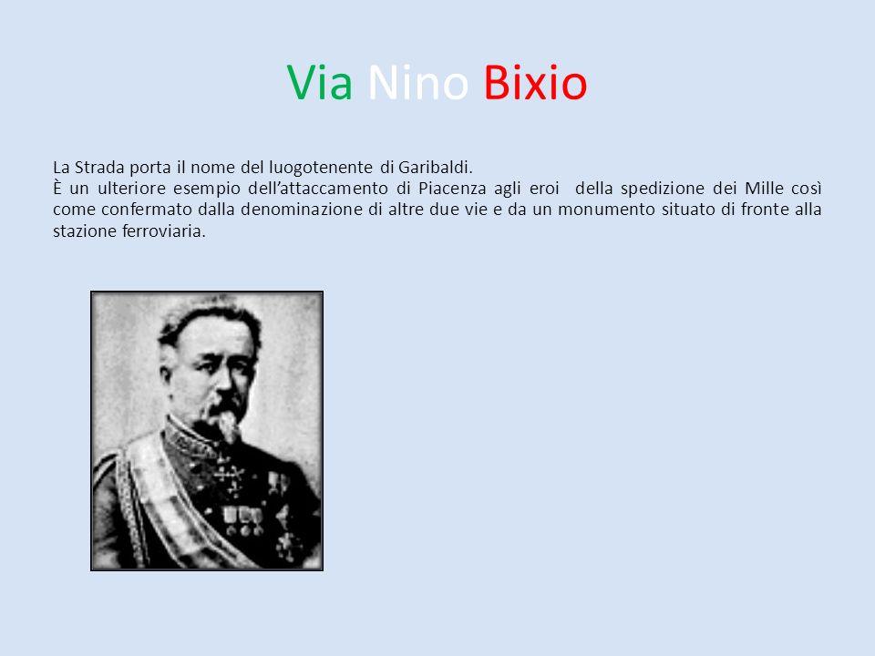 Via Nino Bixio