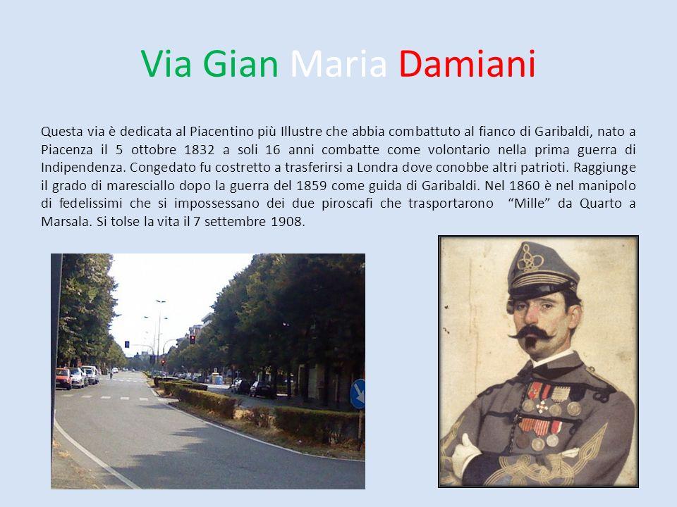 Via Gian Maria Damiani