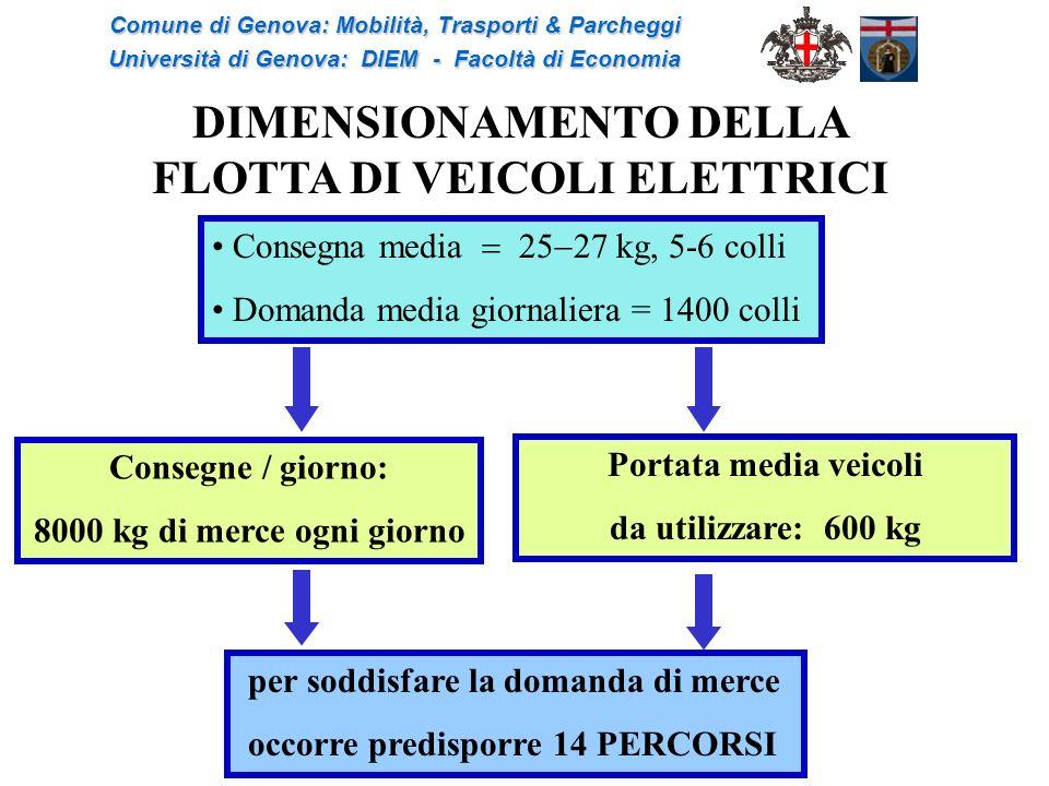 DIMENSIONAMENTO DELLA FLOTTA DI VEICOLI ELETTRICI