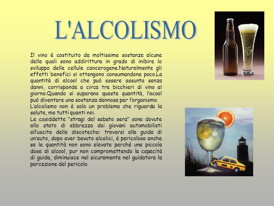 L ALCOLISMO