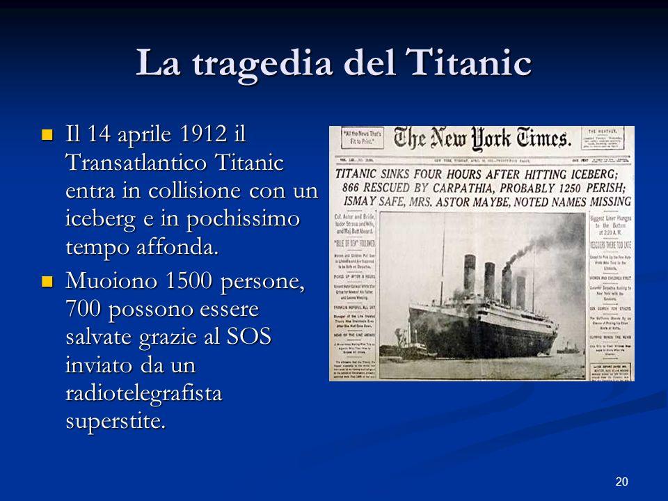 La tragedia del Titanic