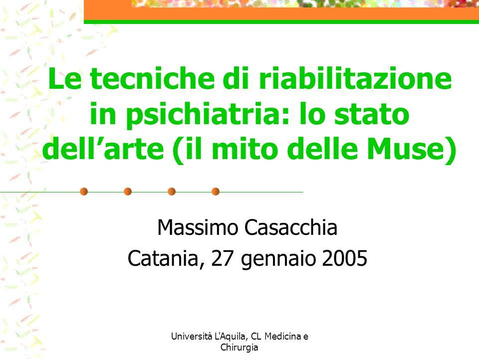 Massimo Casacchia Catania, 27 gennaio 2005