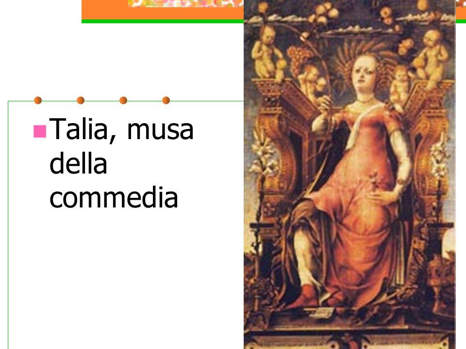 Talia, musa della commedia