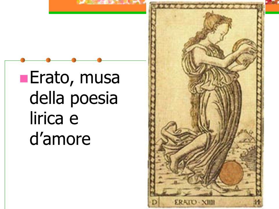 Erato, musa della poesia lirica e d'amore