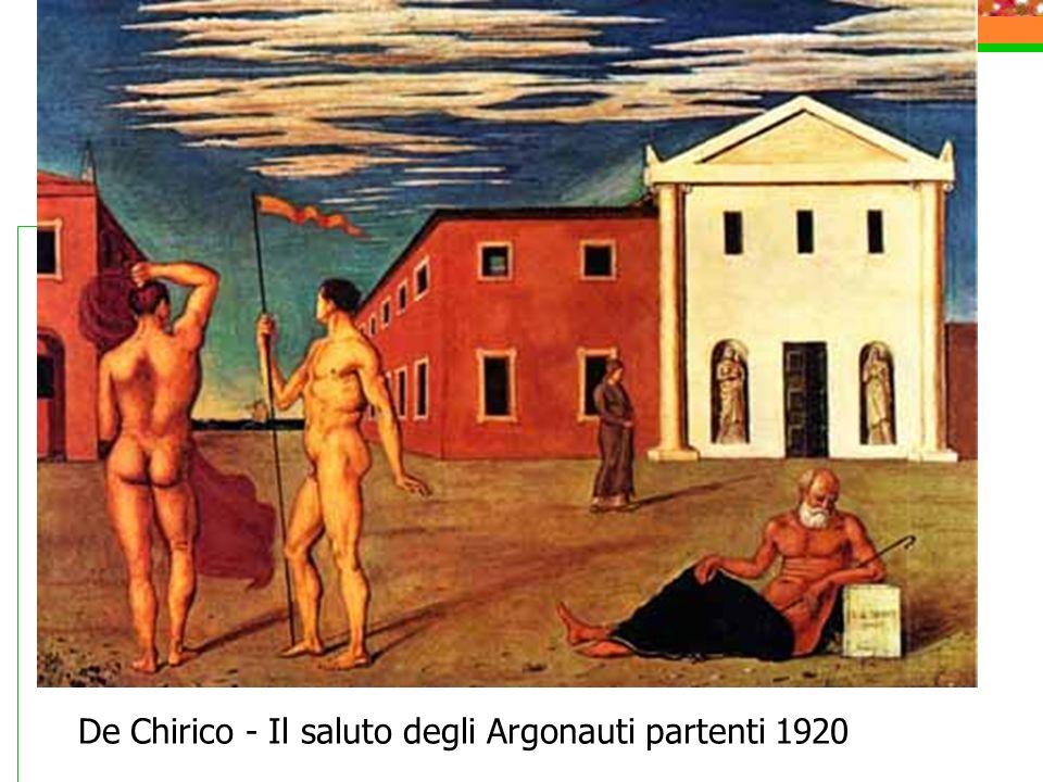 De Chirico - Il saluto degli Argonauti partenti 1920