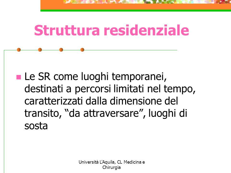 Struttura residenziale
