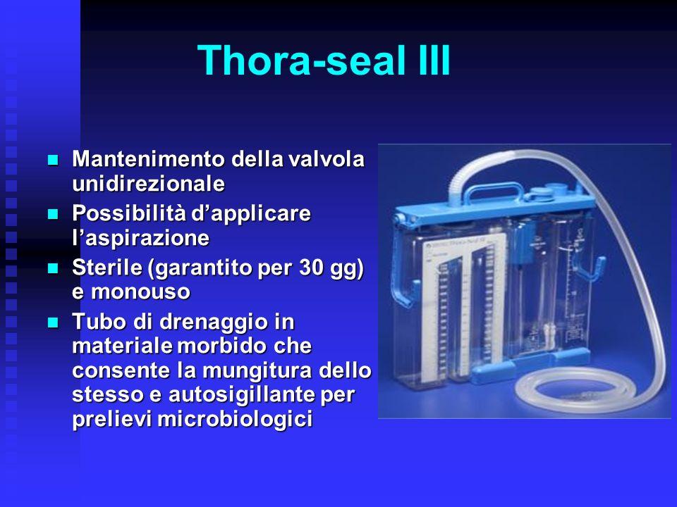 Thora-seal III Mantenimento della valvola unidirezionale